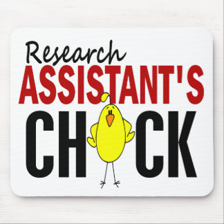 RESEARCH ASSISTANT'S CHICK MOUSE PAD