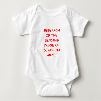 research baby bodysuit