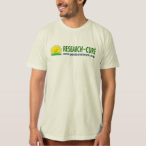 Research = Cure T-shirt Men's