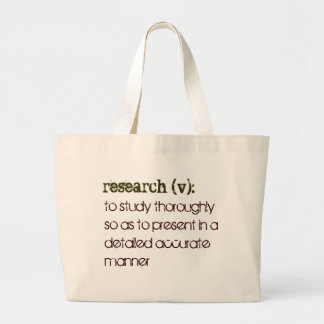 Research defined Tote Bag