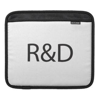 Research & Development.ai iPad Sleeve