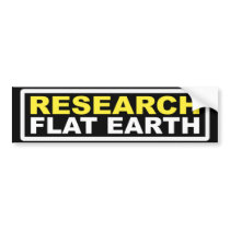 RESEARCH FLAT EARTH STICKERS