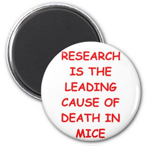research fridge magnet
