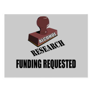 Research Funding Beer T-shirts Gifts Postcard