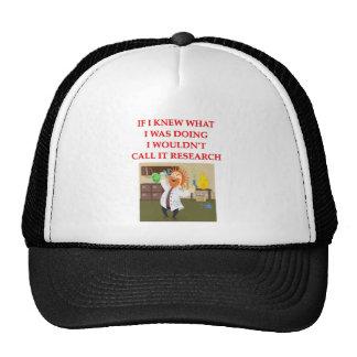 research trucker hat