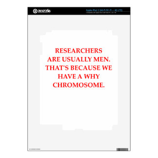 research iPad 3 decal