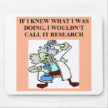 research  joke mouse pad