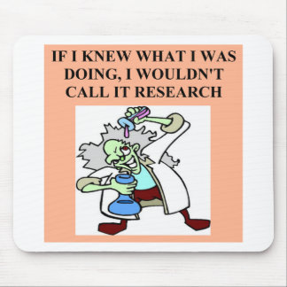 research  joke mouse pad