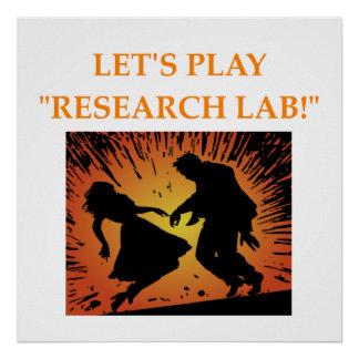 research lab poster