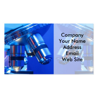 Research Microscope Business Cards