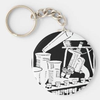 Research Scientist Keychain