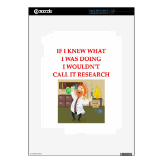 research iPad 2 skins