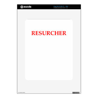 RESEARCH SKIN FOR iPad