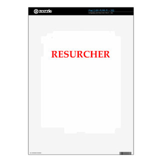 RESEARCH SKIN FOR THE iPad 2