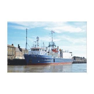 Research & Survey Ship Atlantic Wind Canvas Prints
