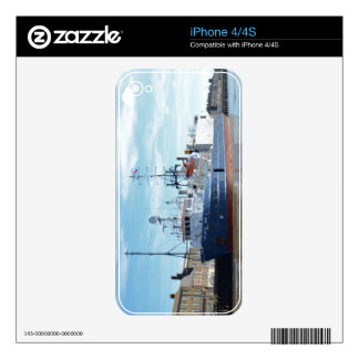 Research & Survey Ship Atlantic Wind Skins For iPhone 4S