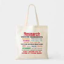 Research Vaccines Tote Bag