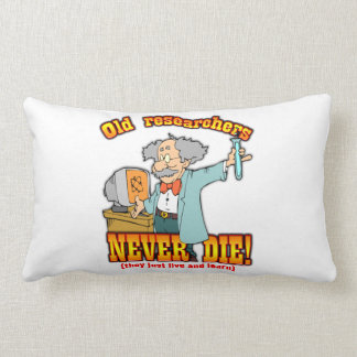 Researchers Throw Pillow