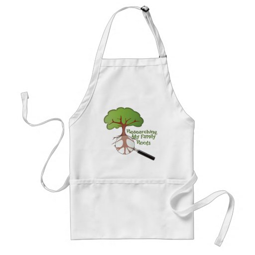 Researching my Family Roots Aprons