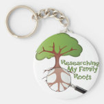 Researching my Family Roots Keychains