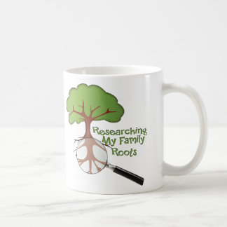 Researching my Family Roots Mugs