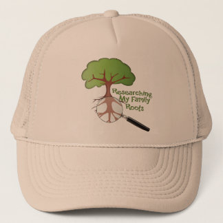 Researching my Family Roots Trucker Hat