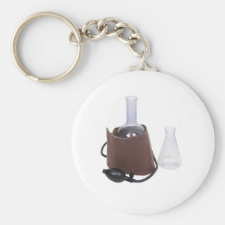 ResearchPressure071209 Basic Round Button Keychain