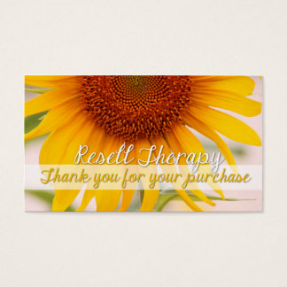 Resell Therapy Business Card