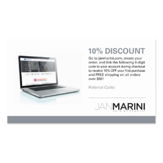 Reseller Referral Card Business Card