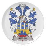 Resen Family Crest Dinner Plate