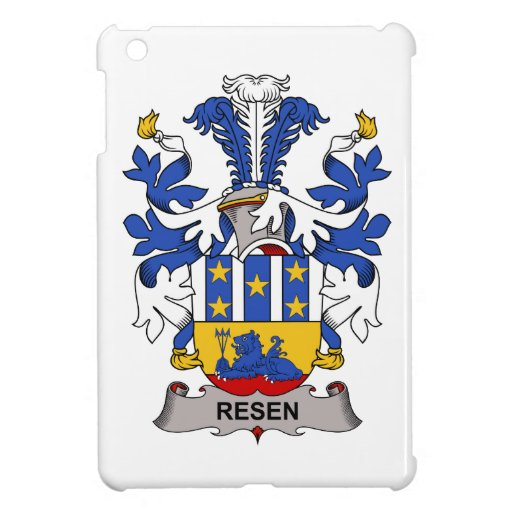 Resen Family Crest iPad Mini Cases
