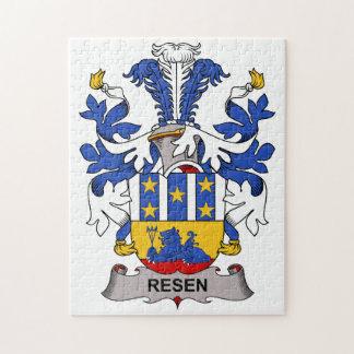 Resen Family Crest Puzzles