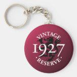 Reserva 1927 del vintage llavero personalizado