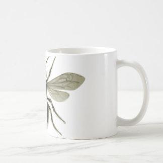 Reserva amarilla del negro de la abeja reina las a tazas de café