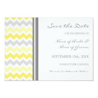Reserva amarilla gris del boda de la foto la comunicados personales