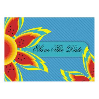Reserva asequible salvaje de Sun las tarjetas de f Tarjetas De Visita
