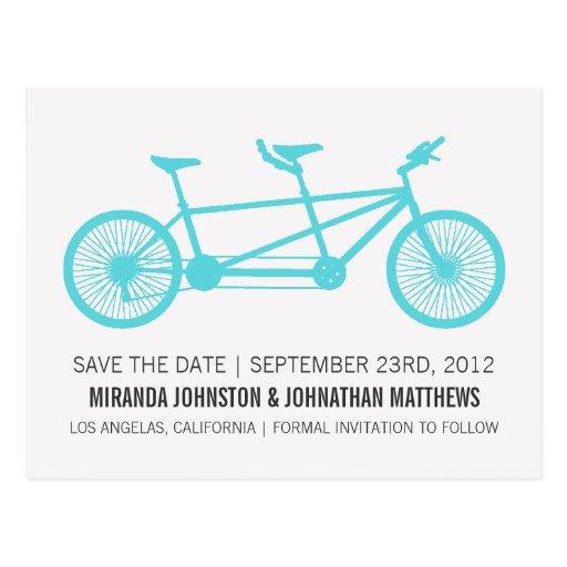 Reserva azul de la bicicleta las postales de la fe