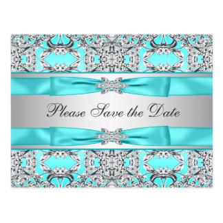 Reserva azul de la plata del trullo la fecha tarjeta postal