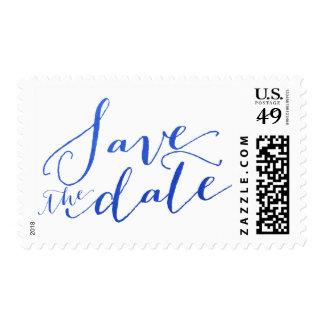 Reserva azul del encanto el | de la hoja el sello
