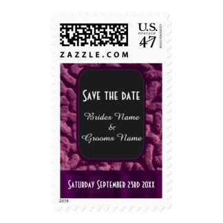 Reserva céltica púrpura del nudo la fecha sellos postales