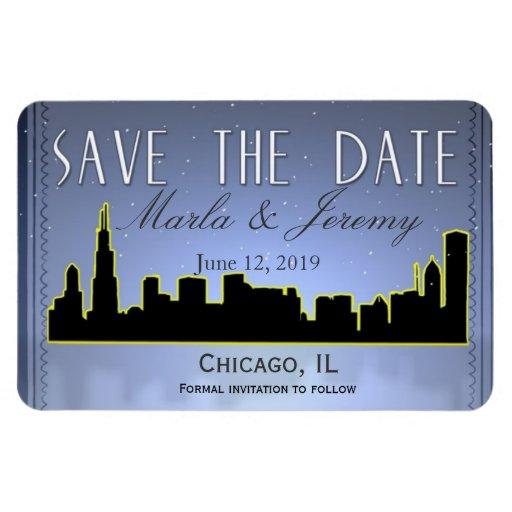 Reserva céntrica del horizonte de Chicago Illinois Iman Flexible
