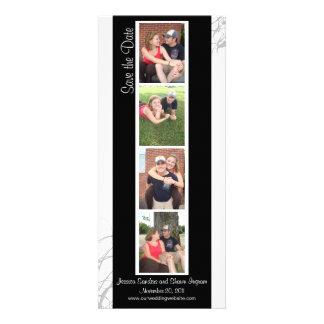 Reserva creativa de la cabina de la foto la fecha invitaciones personales