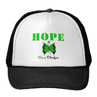 Reserva Darfur de la esperanza Gorros Bordados