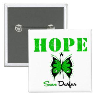 Reserva Darfur de la esperanza Pins