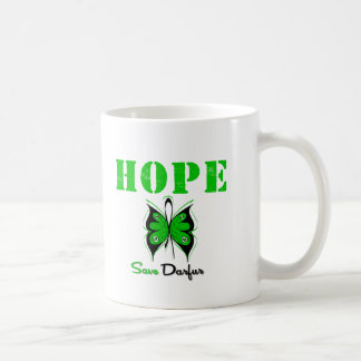 Reserva Darfur de la esperanza Taza Básica Blanca