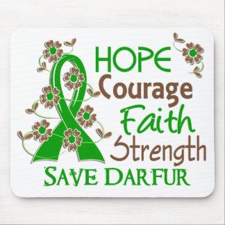 Reserva Darfur de la fuerza 3 de la fe del valor d Tapete De Raton