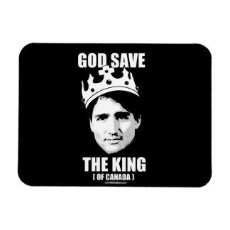 Reserva de dios el rey de Canadá - .png Imanes Rectangulares