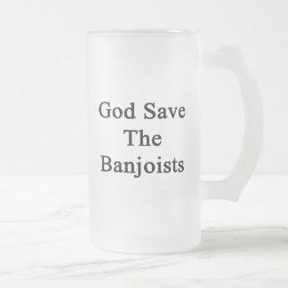 Reserva de dios los Banjoists Taza De Café