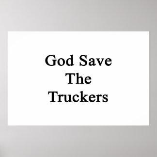 Reserva de dios los camioneros posters