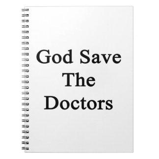 Reserva de dios los doctores cuaderno